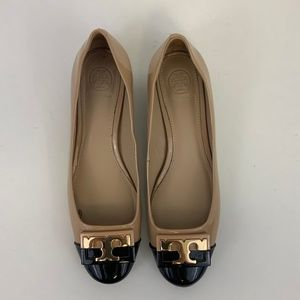 Tory Burch Gigi Color block Patent Heel Pump 6.5